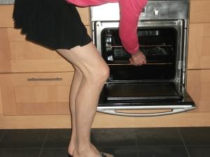 sissy cooking