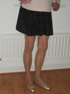 husband in mini skirt